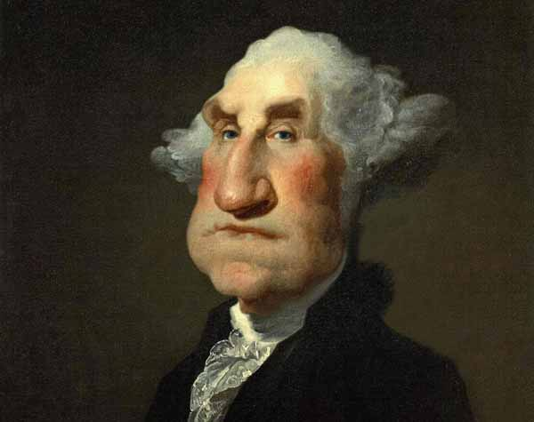 George Washington Caricature by Rodney Pike