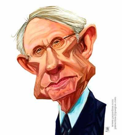 Harry Reid Caricature by pxmolina