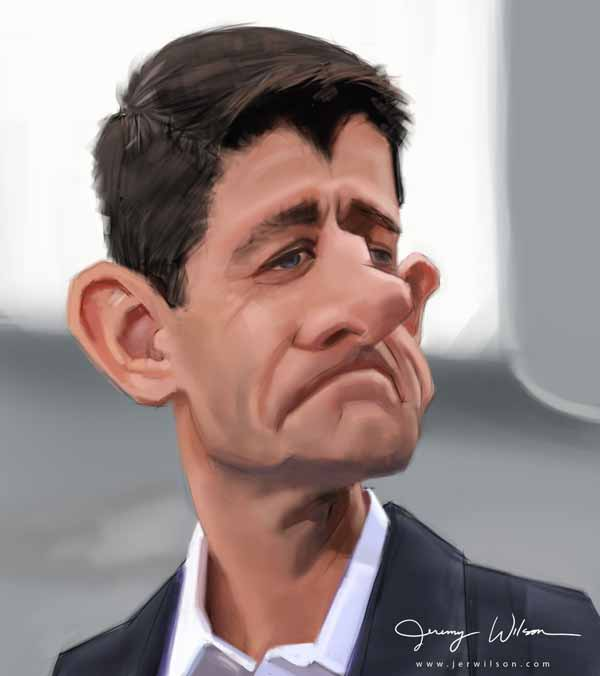 Paul Ryan by Jeremy Wilson