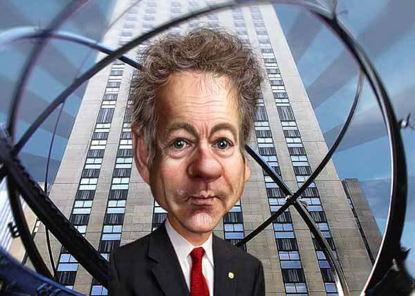 Rand Paul Caricature by DonkeyHotey
