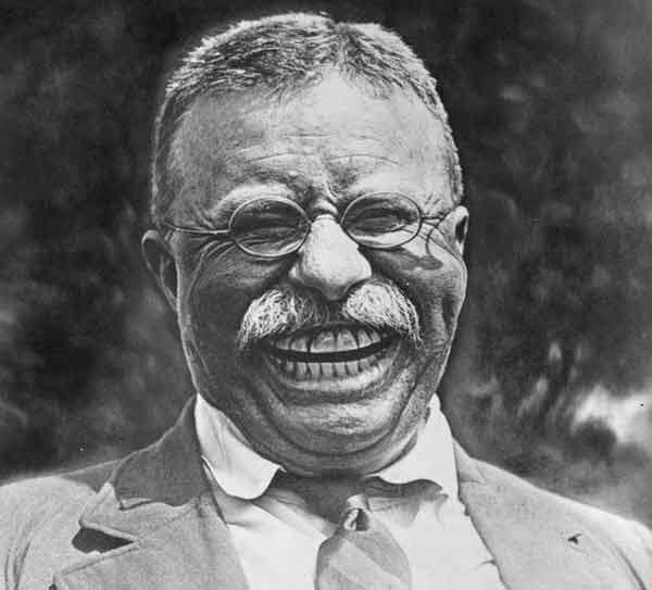 Teddy Roosevelt Caricature by Joe Azzato