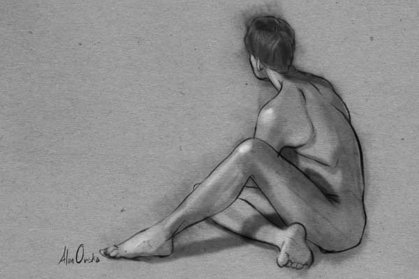 Alison Scott Figure Drawing