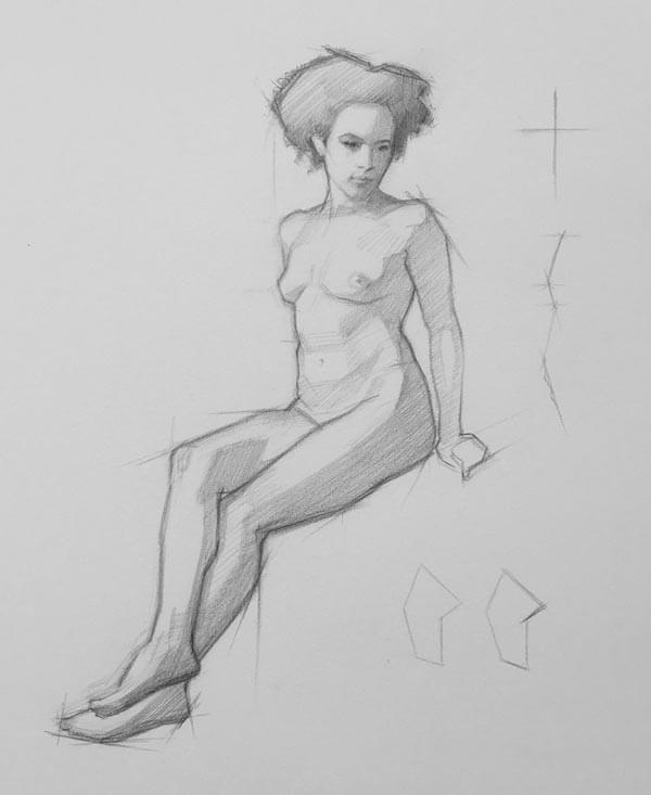 Drawing Tutorials Online Nude Figure