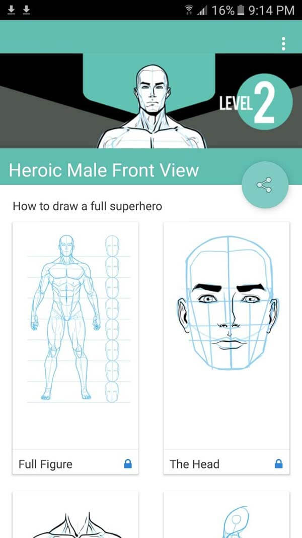 Learn To Draw App Screenshot