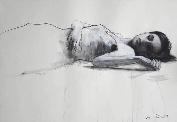 Mark Demsteader Female Figure Pose