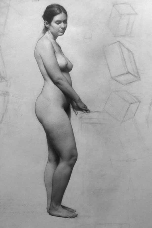 Samual Hung Figure Drawing From Life