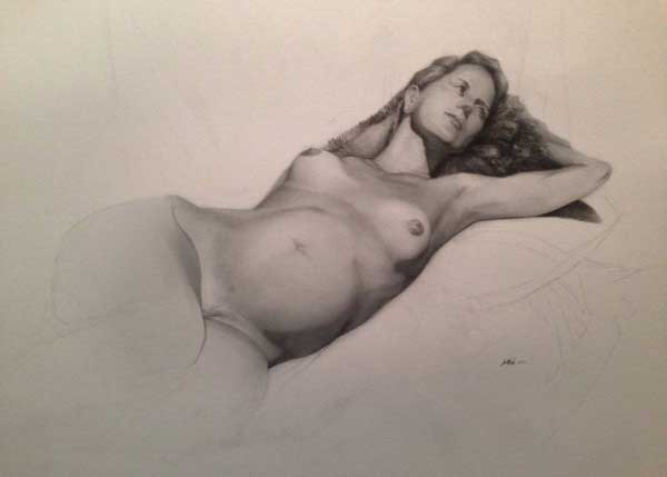 Stephen Mabee Nude Female Figure