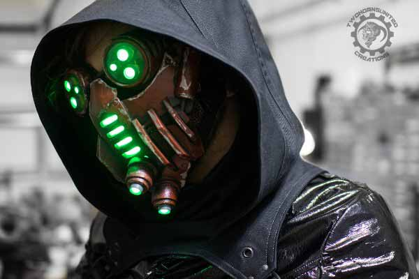 Cyberpunk LED Mask By Brian Cargile