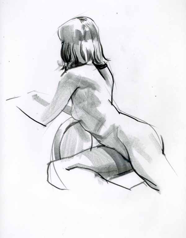 Figure Drawing By David Longo