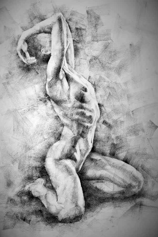 Nude Figure Drawings By Dimitar Hristov
