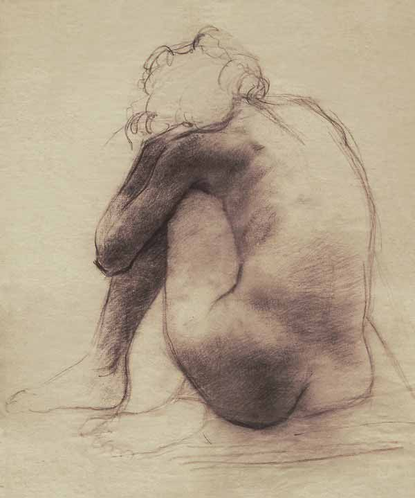 Figure Drawing By Eric Fan