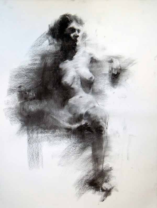 Short Figure Drawing By Evan Youngdo Lee