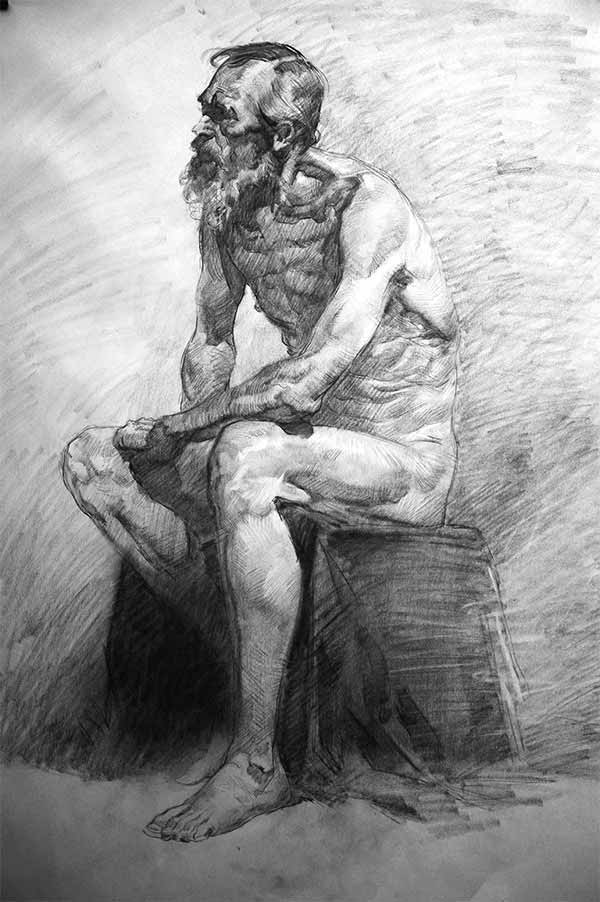Masters Figure Drawing By Jeffrey Watts
