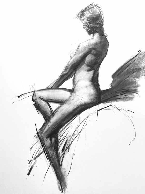 Quick Sketch Figure Drawing By Jeongwoo Woo