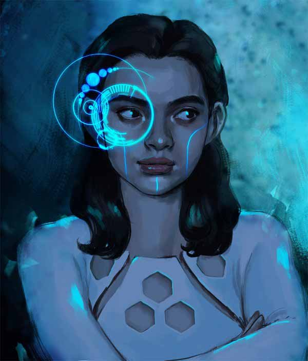 Cyber Girl By Luise Stolze
