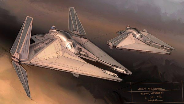 Star Wars Spaceships By Ryan Church
