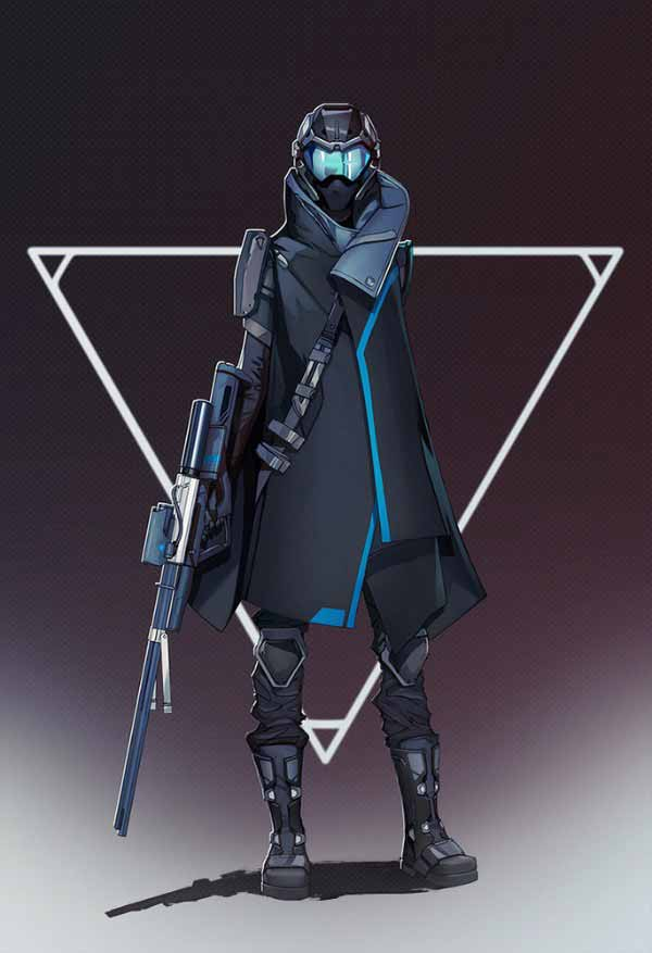 Cyberpunk Sniper By Soundhunter