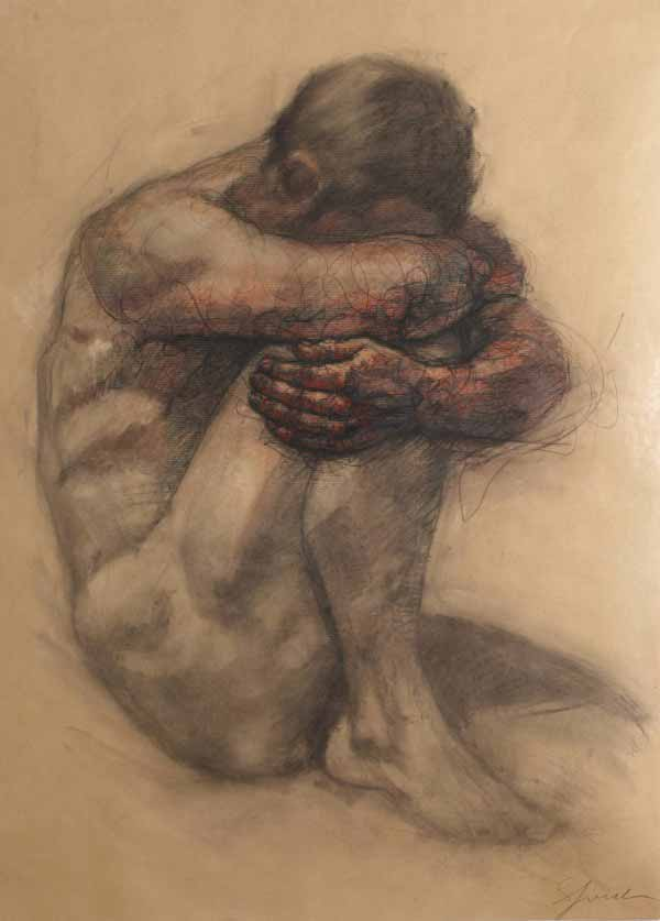 Figure Drawing By Sylvie Guillot