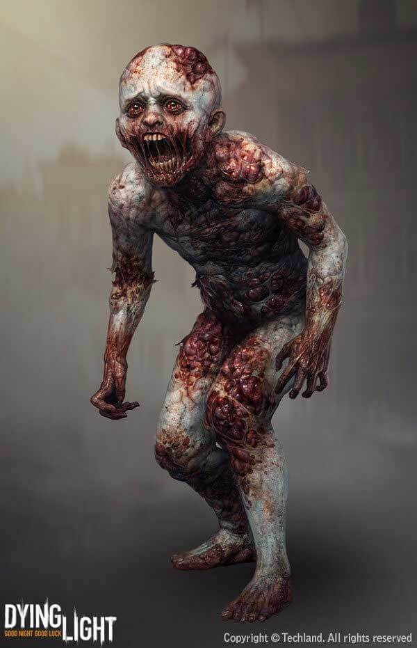 Small Zombie By Waldek Kaminski