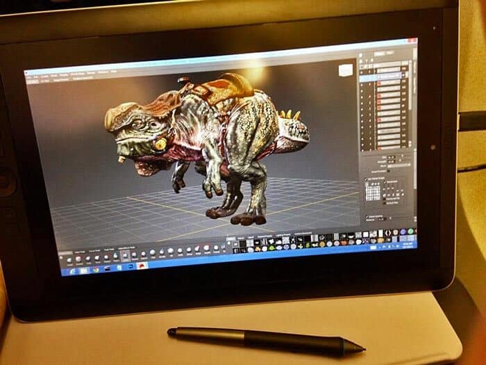 Wacom Cintiq Features
