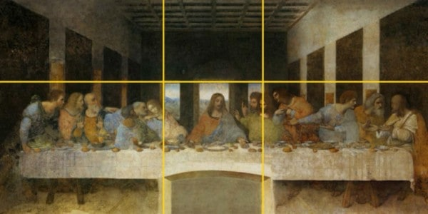 Divine Ratio In Leonardo Da Vinci Art