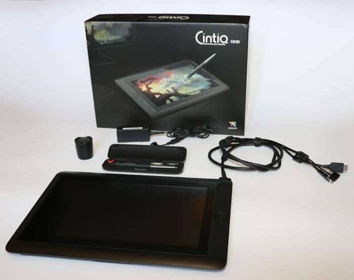 Cintiq 13hd Unboxing