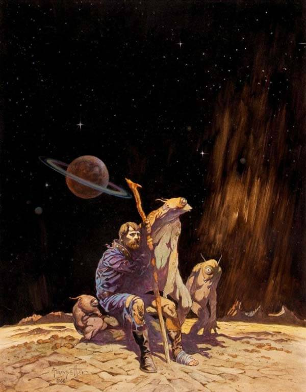Frank Frazetta Art Example