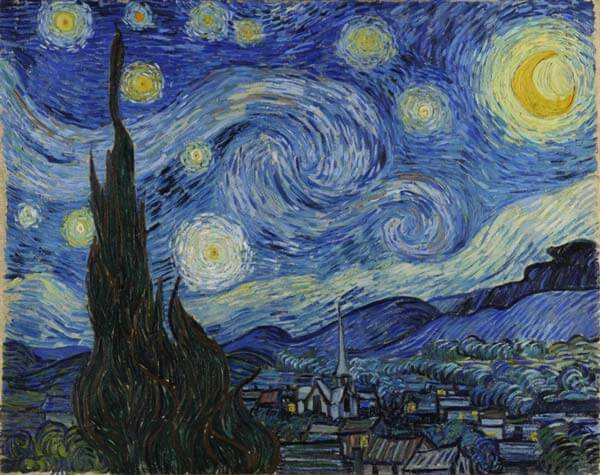 Van Gogh Night Sky