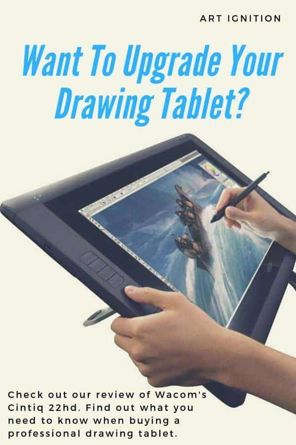 Wacom Cintiq 22hd Pinterest