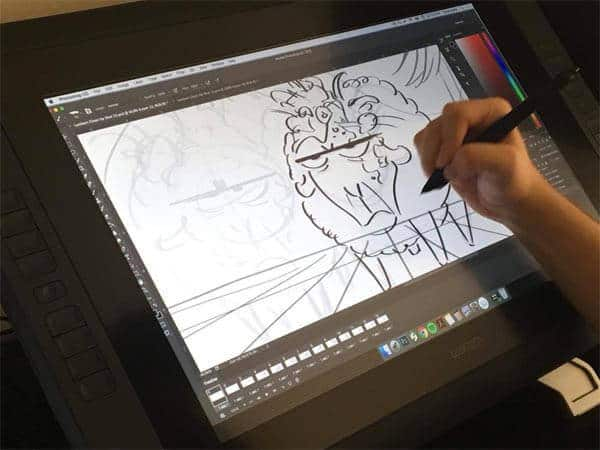Wacom Cintiq 22hd Display