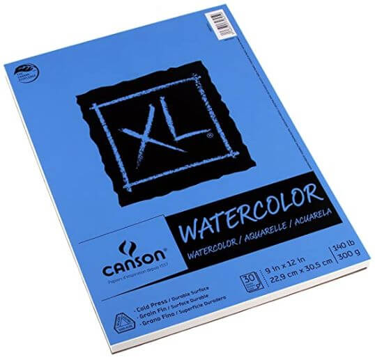 Canson Xl Watercolor Paper (300 Gsm 9 X 12) Review