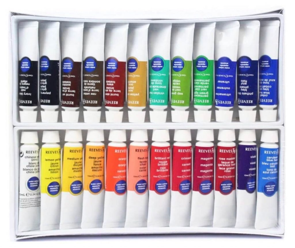 Reeves 24 Pack Water Color Paint Set