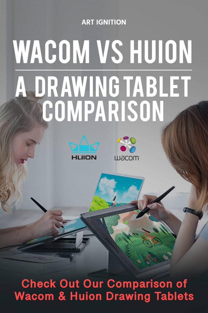 Pinterest Huion Vs Wacom