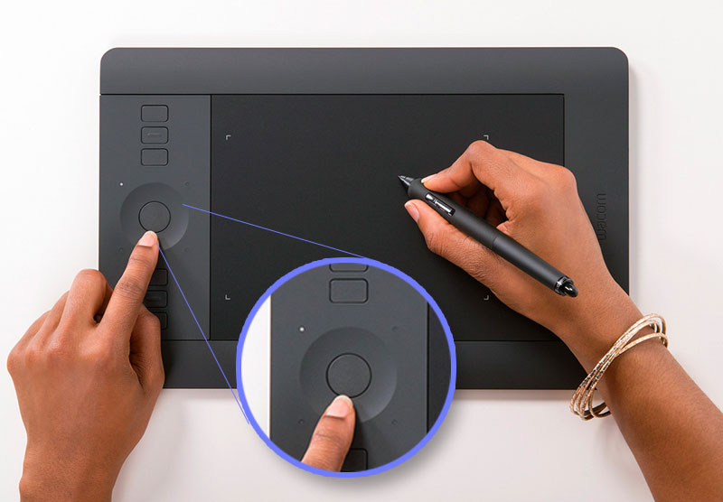 Express Keys For Wacom Drawing Tablets