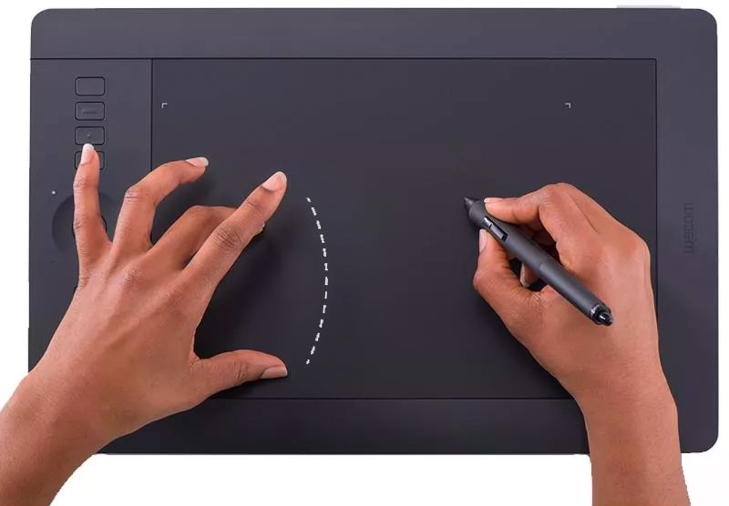 Multi Touch For Drawing Tablet