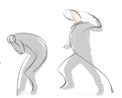 Gesture Drawing Using Simple Csi Lines