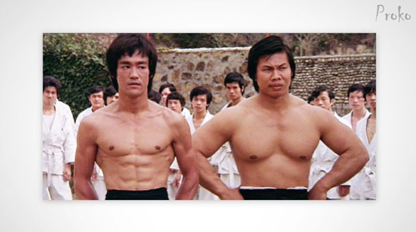 Bruce Lee Body Types