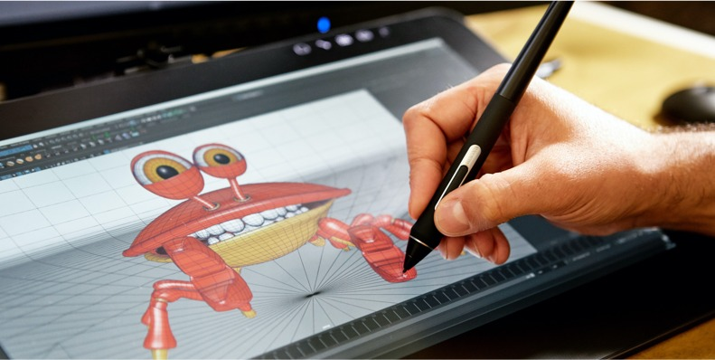 Wacom Film Animation In Tablet