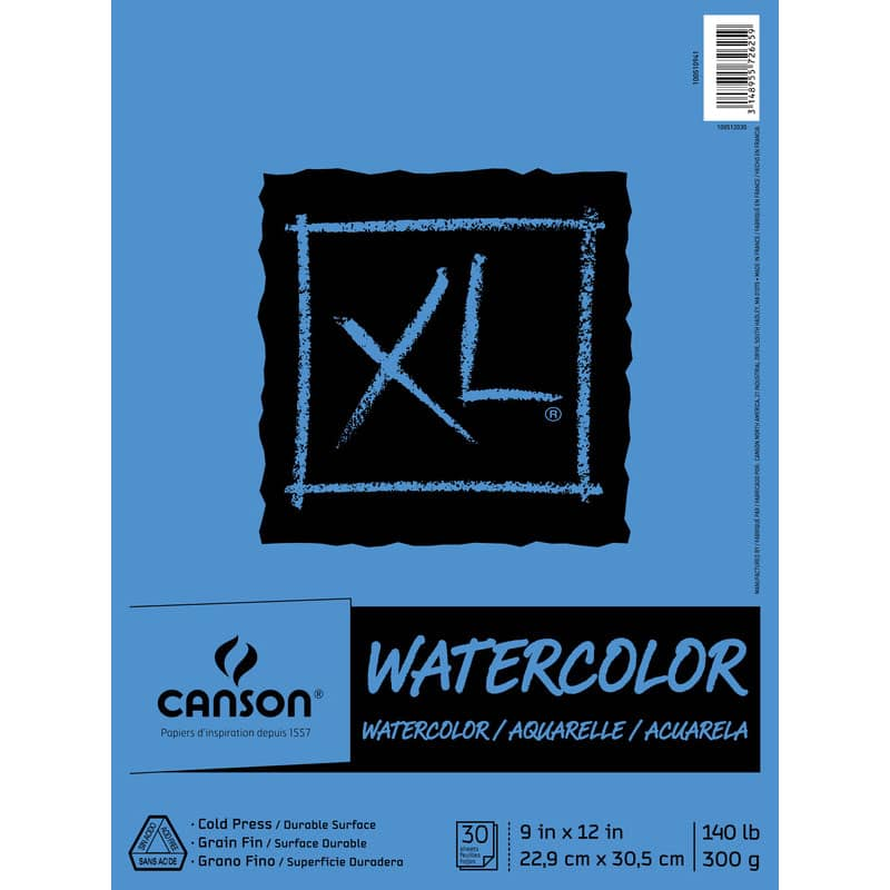 canson xl watercolor paper image