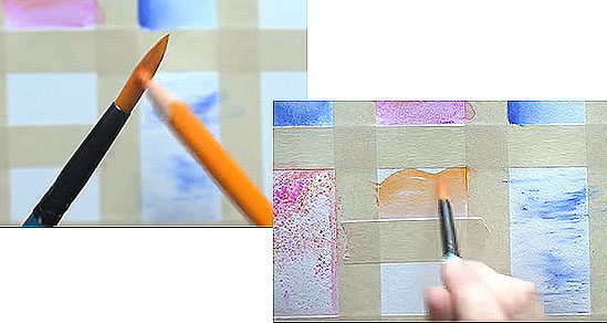 use brush to pick color from pencil