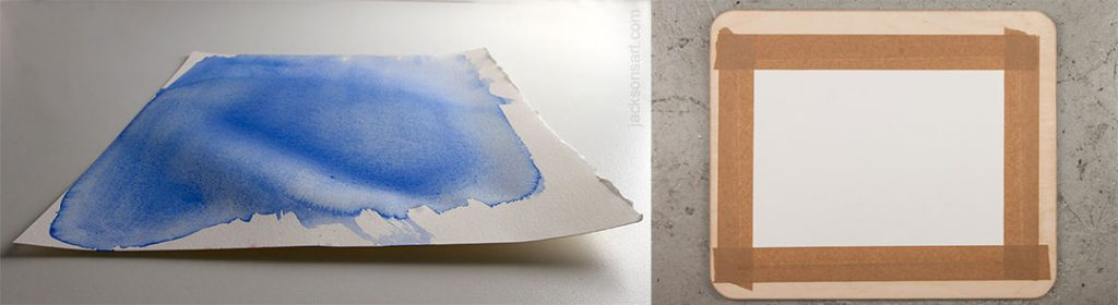 paper type for watercolor pencil