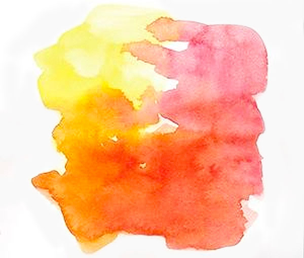 watercolor blending primary colors